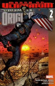 Ultimate Origins #2 2nd Second Print Guice Variant (2008) Marvel comic book